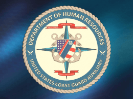 U.S. Coast Guard Auxiliary: Your Benefits Package