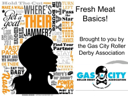 Roller Derby 101 - Gas City Rollers