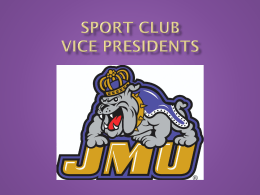 vp - James Madison University