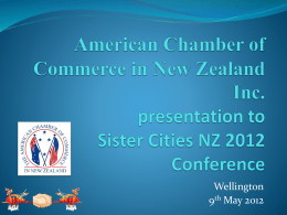 American Chamber of Commerce in New Zealand Inc