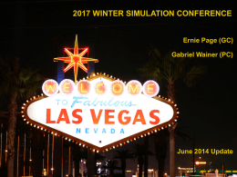 WSC 2017 Report - Winter Simulation Conference