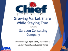 Tacting for gaining Market Share