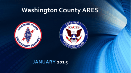 Washington County ARES/RACES