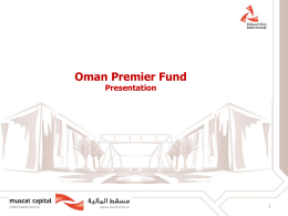 Oman Premiere Fund Overview