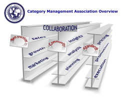 Category Management Association Advancing professional standards