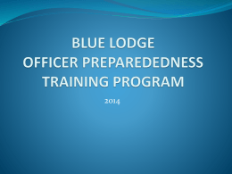 Lodge Officer Training - Educational Resources