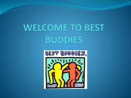 Best Buddies PowerPoint