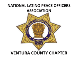 2015 Annual Meeting - NLPOA Ventura County