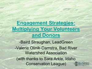 Engagement Strategies: Multiplying Your