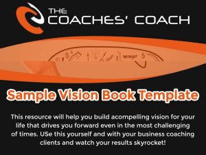 Sample Vision Book Template