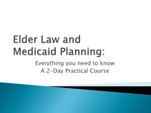 Elder Law and Medicaid Planning - The Law Offices of Aubrey Harry