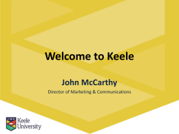 Students` Union - Keele University