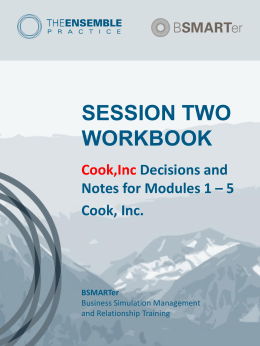 Session 2 Team Workbook