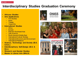 Graduating Student Slideshow