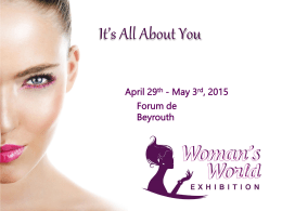 Brochure - Womans World | Exhibition