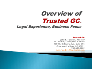 Overview - Trusted GC