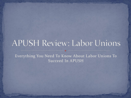 Everything You Need to Know About Unions in