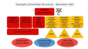 GP – Example Committee Structure Aberdeen AAC