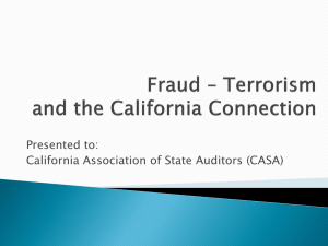 Fraud_Auditors_Prese.. - California Association of State Auditors