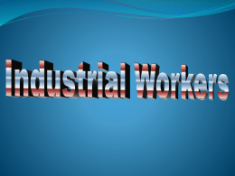 Industrial Workers PowerPoint