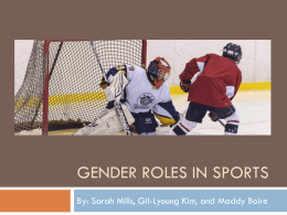Gender Roles in Sports Slideshow