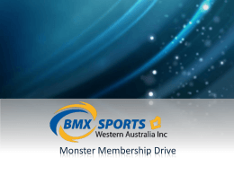 Monster Membership