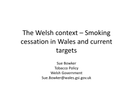 Tobacco Control Action Plan