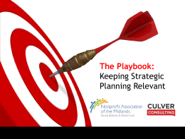 Making Strategic Planning Relevant