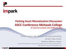 Monetization of Assets Speakers