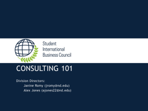 Intro to Consulting (1 MB PPT)