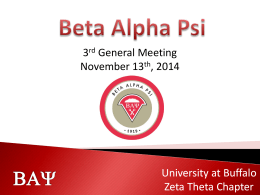BAY - Beta Alpha Psi Zeta Theta