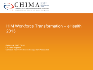 Canadian College of Health Information Management (CCHIM)