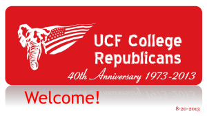 UCF College Republicans General Meeting