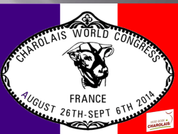 view here the program - CHAROLAIS INTERNATIONAL