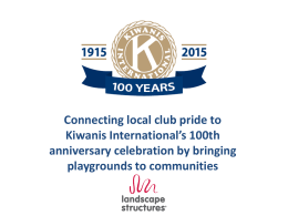 Guide - 100th Anniversary playgrounds.ppt
