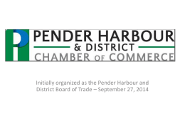 A Year in Review (PDF, 3.5 MB) - Pender Harbour & District