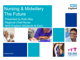 Nursing & Midwifery Future – Ruth May