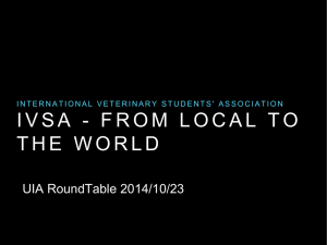 Presentation - Union of International Associations