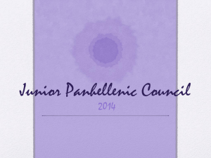 Junior Panhellenic Council - Penn State Panhellenic Council