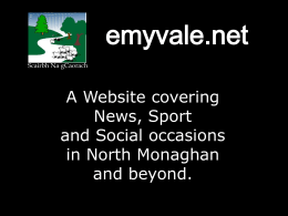 advertise on emyvale.net