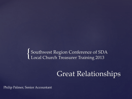 Great Relationships - Southwest Region Conference