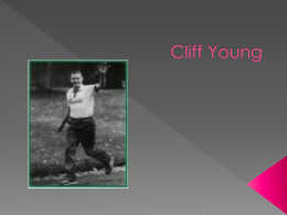 Cliff Young powerpoint