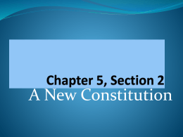 Chapter 5, Section 2 Power Point