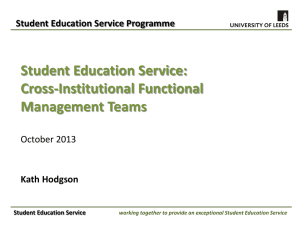 Student Education Service