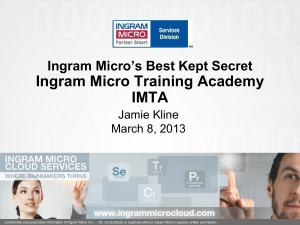 IMTA - Ingram Micro