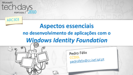 Windows Identity Foundation Essentials