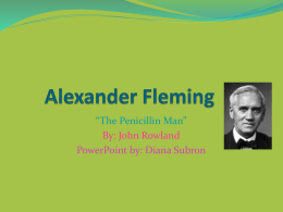 Alexander Fleming PowerPoint