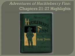 Huck finn essay topics