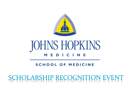 Slide 1 - Johns Hopkins Medicine