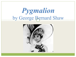 Introduction to Pygmalion